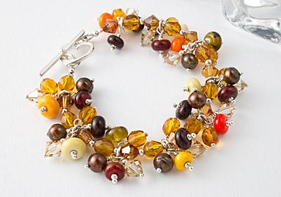 Tutti-Frutti Charm Bracelet