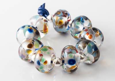 Fritty Lampwork Beads