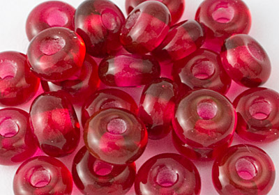 Spacer Beads - Cranberry