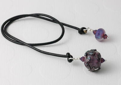 Purple Flower Bookmark