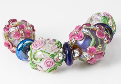 Flower Bead Collection