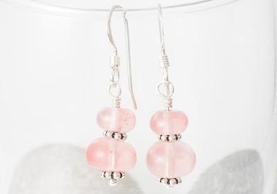 Cherry Glass Earrings