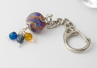 """Sea View"" Handbag Charm"