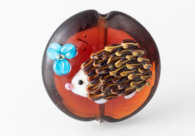 Hedgehog Focal Bead