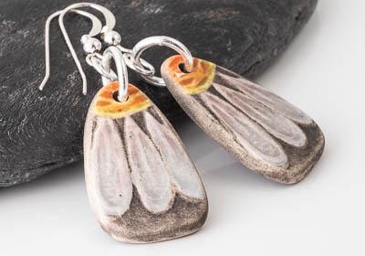 Daisy Ceramic Earrings