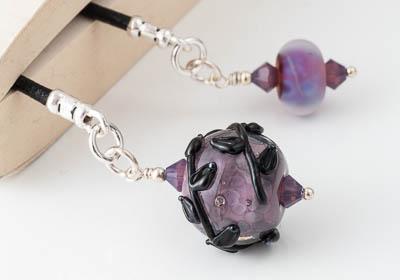 Purple Flower Bookmark