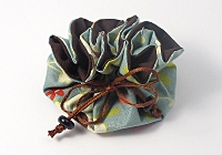 Turquoise Jewellery Pouch