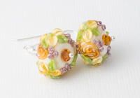 Flower Lampwork Earrings alternative view 1