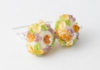 Flower Lampwork Earrings alternative view 1