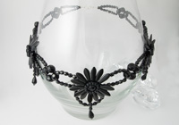 Beaded Bead Evening Necklace