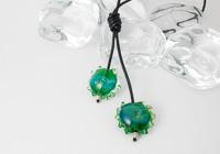 Shimmery Green Lariat alternative view 1