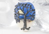 Lampwork Tree Bead