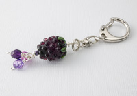Blackberry Handbag Charm