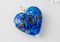 Blue Lampwork Pendant