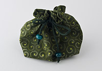 Green Jewellery Pouch