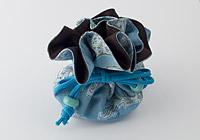 Turquoise/Brown Gift Bag