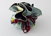 Turquoise Flower Gift Bag