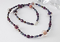 Stone Tumbled Necklace