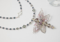 Lampwork Dragonfly Necklace