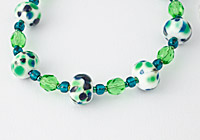 Green Fritty Necklace alternative view 1