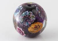Lampwork Flowery Bead alternative view 2
