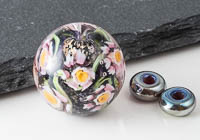 Lampwork Flower Murrini Bead Set