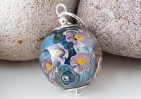 Flower Lampwork Pendant Necklace alternative view 1