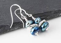 Metallic Lampwork Earrings alternative view 1
