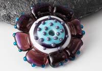 Flower Lampwork Bead alternative view 2