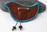Harris Tweed Bird Brooch alternative view 1