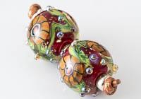 Lampwork Murrini Flower Beads alternative view 1