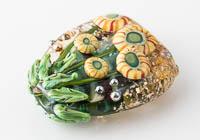 Lampwork Flowery Murrini Bead