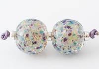 Glittery Fritty Lampwork Beads