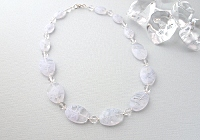 """Cloud"" Beaded Necklace alternative view 1"