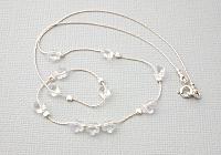 Daisy Swarovski Crystal Necklace alternative view 1