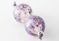 Glittery Fritty Lampwork Beads alternative view 2