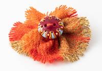 Harris Tweed Flower Brooch alternative view 1