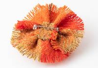 Harris Tweed Flower Brooch alternative view 2