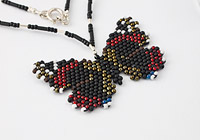 """Red Admiral"" Necklace"