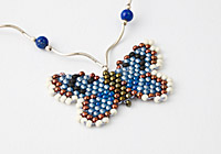 """Alcon Blue Butterfly"" Necklace"
