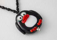 """Percy"" Penguin Necklace"