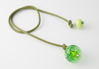 Green Dahlia Bookmark