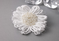 Frosty Flower Brooch