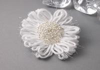 Frosty Flower Brooch
