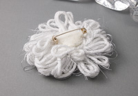 Frosty Flower Brooch alternative view 1