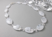 """""""Cloud"""" Beaded Necklace alternative view 2"""