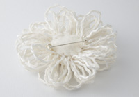 Snow White Flower Brooch alternative view 1