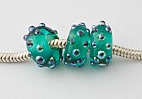 """Charm Beads - """"Teal Spark"""""""