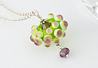 """Green Flower"" Necklace alternative view 1"