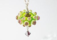 """Green Flower"" Necklace"